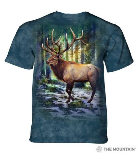 Sunlit Elk T-shirt | The Mountain®